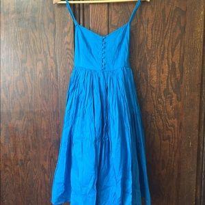 Topshop Blue Sundress